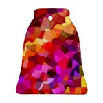 Geometric Fall Pattern Ornament (Bell)