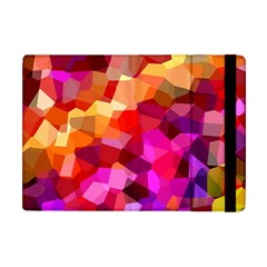 Geometric Fall Pattern Apple Ipad Mini Flip Case by DanaeStudio