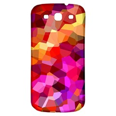 Geometric Fall Pattern Samsung Galaxy S3 S Iii Classic Hardshell Back Case by DanaeStudio