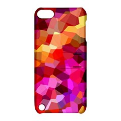 Geometric Fall Pattern Apple Ipod Touch 5 Hardshell Case With Stand by DanaeStudio