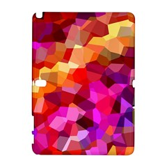 Geometric Fall Pattern Samsung Galaxy Note 10 1 (p600) Hardshell Case by DanaeStudio