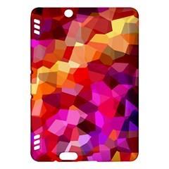 Geometric Fall Pattern Kindle Fire Hdx Hardshell Case by DanaeStudio