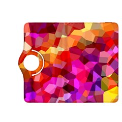 Geometric Fall Pattern Kindle Fire Hdx 8 9  Flip 360 Case by DanaeStudio