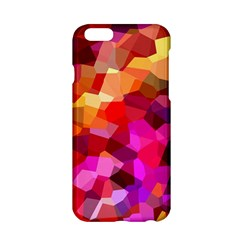 Geometric Fall Pattern Apple Iphone 6/6s Hardshell Case by DanaeStudio