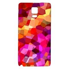 Geometric Fall Pattern Galaxy Note 4 Back Case by DanaeStudio
