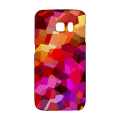 Geometric Fall Pattern Galaxy S6 Edge by DanaeStudio
