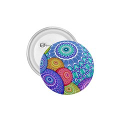 India Ornaments Mandala Balls Multicolored 1 75  Buttons by EDDArt