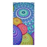 India Ornaments Mandala Balls Multicolored Shower Curtain 36  x 72  (Stall)