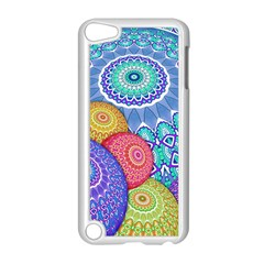 India Ornaments Mandala Balls Multicolored Apple Ipod Touch 5 Case (white) by EDDArt