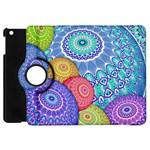 India Ornaments Mandala Balls Multicolored Apple iPad Mini Flip 360 Case