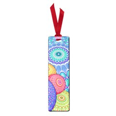 India Ornaments Mandala Balls Multicolored Small Book Marks by EDDArt