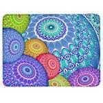 India Ornaments Mandala Balls Multicolored Samsung Galaxy Tab 7  P1000 Flip Case