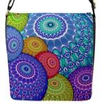 India Ornaments Mandala Balls Multicolored Flap Messenger Bag (S)