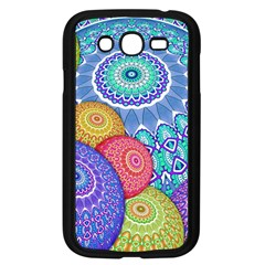 India Ornaments Mandala Balls Multicolored Samsung Galaxy Grand Duos I9082 Case (black) by EDDArt