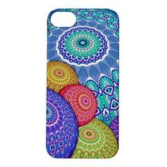 India Ornaments Mandala Balls Multicolored Apple Iphone 5s/ Se Hardshell Case by EDDArt