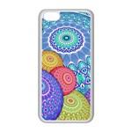 India Ornaments Mandala Balls Multicolored Apple iPhone 5C Seamless Case (White)