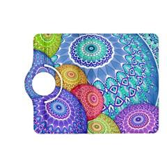 India Ornaments Mandala Balls Multicolored Kindle Fire Hd (2013) Flip 360 Case by EDDArt