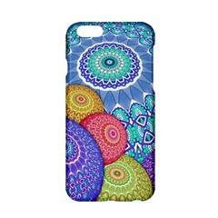 India Ornaments Mandala Balls Multicolored Apple Iphone 6/6s Hardshell Case by EDDArt