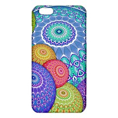 India Ornaments Mandala Balls Multicolored Iphone 6 Plus/6s Plus Tpu Case by EDDArt