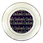 Cute Cactus Blossom Porcelain Plates