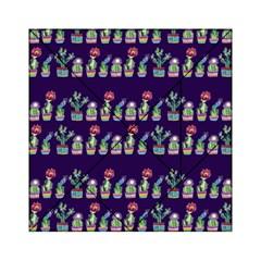 Cute Cactus Blossom Acrylic Tangram Puzzle (6  X 6 ) by DanaeStudio