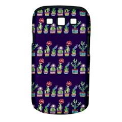 Cute Cactus Blossom Samsung Galaxy S Iii Classic Hardshell Case (pc+silicone) by DanaeStudio