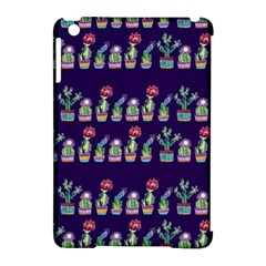 Cute Cactus Blossom Apple Ipad Mini Hardshell Case (compatible With Smart Cover) by DanaeStudio
