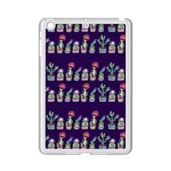 Cute Cactus Blossom Ipad Mini 2 Enamel Coated Cases by DanaeStudio