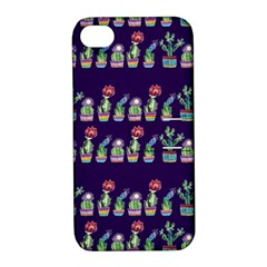 Cute Cactus Blossom Apple Iphone 4/4s Hardshell Case With Stand by DanaeStudio