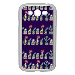 Cute Cactus Blossom Samsung Galaxy Grand Duos I9082 Case (white) by DanaeStudio