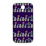 Cute Cactus Blossom Samsung Galaxy S4 I9500/I9505  Hardshell Back Case