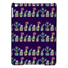 Cute Cactus Blossom Ipad Air Hardshell Cases by DanaeStudio