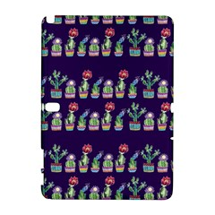 Cute Cactus Blossom Samsung Galaxy Note 10 1 (p600) Hardshell Case by DanaeStudio