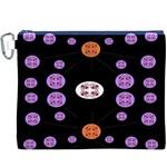 Alphabet Shirtjhjervbret (2)fvgbgnhll Canvas Cosmetic Bag (XXXL)