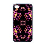 Alphabet Shirtjhjervbret (2)fv Apple iPhone 4 Case (Black)