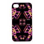 Alphabet Shirtjhjervbret (2)fv Apple iPhone 4/4S Hardshell Case with Stand