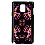 Alphabet Shirtjhjervbret (2)fv Samsung Galaxy Note 4 Case (Black)