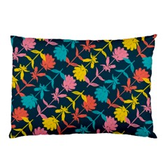 Colorful Floral Pattern Pillow Case by DanaeStudio