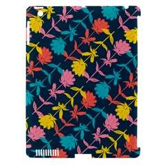 Colorful Floral Pattern Apple Ipad 3/4 Hardshell Case (compatible With Smart Cover) by DanaeStudio