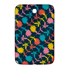Colorful Floral Pattern Samsung Galaxy Note 8 0 N5100 Hardshell Case  by DanaeStudio