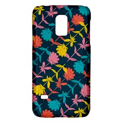 Colorful Floral Pattern Galaxy S5 Mini by DanaeStudio