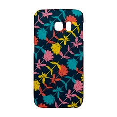 Colorful Floral Pattern Galaxy S6 Edge by DanaeStudio