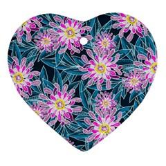 Whimsical Garden Ornament (heart)  by DanaeStudio