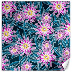 Whimsical Garden Canvas 12  X 12   by DanaeStudio