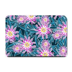 Whimsical Garden Small Doormat  by DanaeStudio