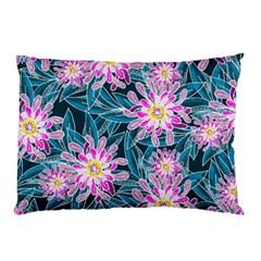 Whimsical Garden Pillow Case by DanaeStudio
