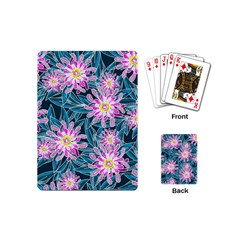 Whimsical Garden Playing Cards (mini)  by DanaeStudio