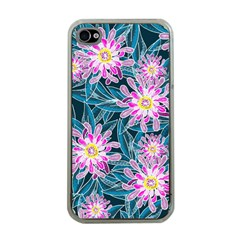 Whimsical Garden Apple Iphone 4 Case (clear) by DanaeStudio