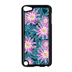 Whimsical Garden Apple Ipod Touch 5 Case (black) by DanaeStudio