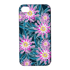 Whimsical Garden Apple Iphone 4/4s Hardshell Case With Stand by DanaeStudio